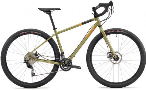 Genesis Vagabond Adventure Bike Green 2018